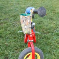 """Lenkertasche für Laufrad / Kinderrad / Roller """"Eicheln"""" Bild 3"""