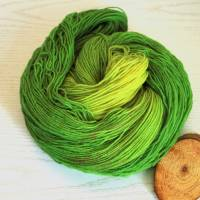 100g handgefärbte Sockenwolle Bild 1
