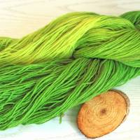 100g handgefärbte Sockenwolle Bild 3