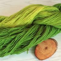 100g handgefärbte Sockenwolle Bild 5