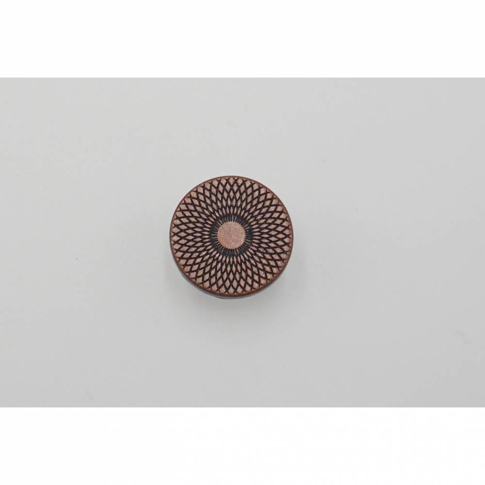 "5 Jeansknöpfe aus Metall 15mm ""Mandala Antik"" Bild 1"