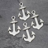 Maritimer Anker Anhänger zur Schmuckherstellung, DIY, Metall Zamak Charms - ZM04 Bild 5