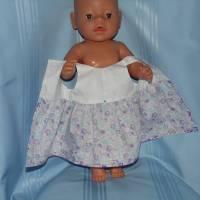 Puppenkleid für 40-43 cm Baby Puppen Bild 3