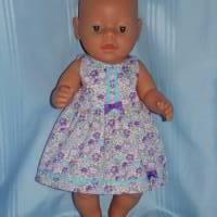 Puppenkleid für 40-43 cm Baby Puppen Bild 4