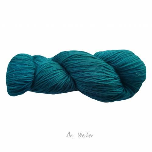 Am Weiher - Sockenwolle (Stärke 8) - handgefärbte Wolle - jeder Strang ein Unikat