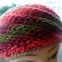 """Stirnband für Frauen und Mädchen - handgestrickt, extrabreit - """"Der Winter kann kommen"""" Bild 2"""