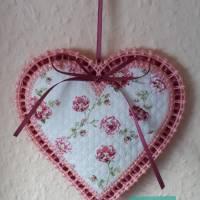 Großes  Herz, gestickt Bild 2