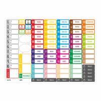 SP-004 magnetischer Stundenplan kariert mit 90 Magneten Organizer Termine Planen Stundenliste mit stabilen Holzrahmen Bild 5