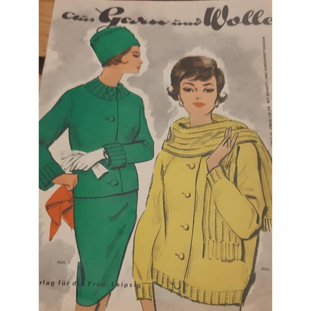 Zeitschrift , Aus Garn und Wolle Bild 1