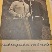 Zeitschrift , Aus Garn und Wolle Bild 2