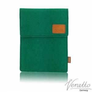 Tasche für eBook-Reader Hülle aus Filz Filztasche Sleeve Schutzhülle für Kindle Kobo Tolino Sony Trekstor, Grün Bild 1