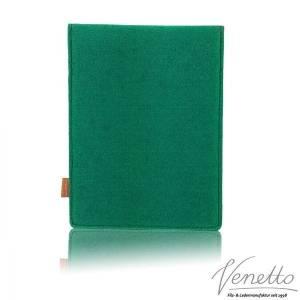 Tasche für eBook-Reader Hülle aus Filz Filztasche Sleeve Schutzhülle für Kindle Kobo Tolino Sony Trekstor, Grün Bild 3