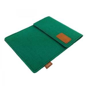 Tasche für eBook-Reader Hülle aus Filz Filztasche Sleeve Schutzhülle für Kindle Kobo Tolino Sony Trekstor, Grün Bild 4
