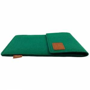 Tasche für eBook-Reader Hülle aus Filz Filztasche Sleeve Schutzhülle für Kindle Kobo Tolino Sony Trekstor, Grün Bild 5