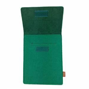 Tasche für eBook-Reader Hülle aus Filz Filztasche Sleeve Schutzhülle für Kindle Kobo Tolino Sony Trekstor, Grün Bild 6