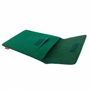 Tasche für eBook-Reader Hülle aus Filz Filztasche Sleeve Schutzhülle für Kindle Kobo Tolino Sony Trekstor, Grün Bild 7