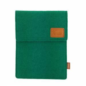 Tasche für eBook-Reader Hülle aus Filz Filztasche Sleeve Schutzhülle für Kindle Kobo Tolino Sony Trekstor, Grün Bild 8