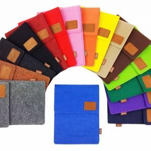 Tasche für eBook-Reader Hülle aus Filz Filztasche Sleeve Schutzhülle für Kindle Kobo Tolino Sony Trekstor, Grün Bild 9