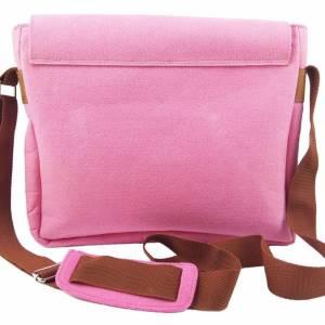 Umhängetasche Freizeit Schultertasche Tasche aus Filz Filztasche Handtasche Pink Bild 3