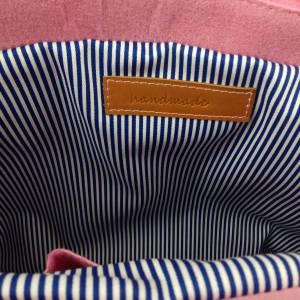 Umhängetasche Freizeit Schultertasche Tasche aus Filz Filztasche Handtasche Pink Bild 7