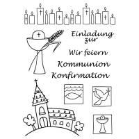 Stempelset für Kommunion und Konfirmation Bild 1