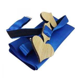 Casino Poker Schleife Fliege Holzfliege Herrenfliege Fliege aus Holz Herz Pik Bild 2