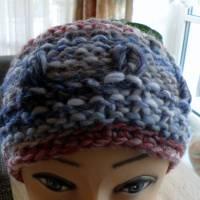 Stirnband für Frauen und Mädchen - handgestrickt Bild 4