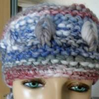 Stirnband für Frauen und Mädchen - handgestrickt Bild 5