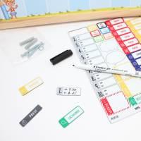 SP-007 magnetischer Stundenplan Einhorn rosa mit 90 Magneten Organizer Termine Planen Stundenliste Bild 7