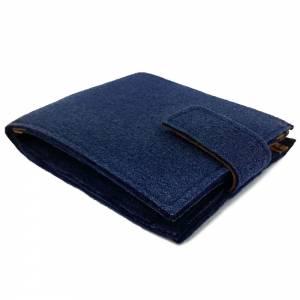 Geldbörse Portemonnaie Geldtasche Portmonee Blau Bild 1