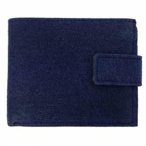 Geldbörse Portemonnaie Geldtasche Portmonee Blau Bild 2