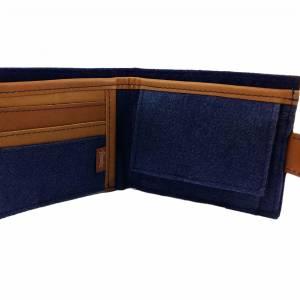 Geldbörse Portemonnaie Geldtasche Portmonee Blau Bild 3