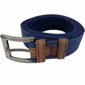 Gürtel aus Filz, Filzgürtel für Damen, Herren. Ledergürtel 85 - 145 cm Hüftumfang. Grau Schwarz Blau. Bild 8