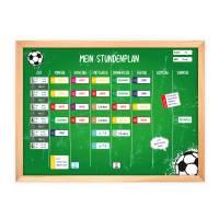 SP-010 magnetischer Stundenplan Fußball grün mit 90 Magneten Organizer Termine Planen Stundenliste Bild 2