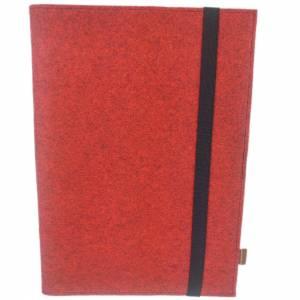 DIN A5 Einband Zeichenmappe Bucheinband Hefteinband für Kalender Notizbuch Schulheft / Geschenk für Sie Ihn Kind / Filzh Bild 4