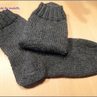 Kuschelsocken, Wollsocken, Socken gestrickt Gr 39-40-41-42-43-44-45-46 Bild 4