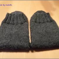 Kuschelsocken, Wollsocken, Socken gestrickt Gr 39-40-41-42-43-44-45-46 Bild 5
