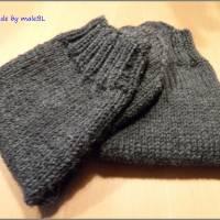 Kuschelsocken, Wollsocken, Socken gestrickt Gr 39-40-41-42-43-44-45-46 Bild 6
