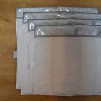 Bandagierunterlagen - 4er Set - Glitzersilber - Gr. VB und WB  Bild 3