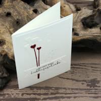 Liebeskarte, Karte zum Valentinstag, Grußkarte für deinen Herzensmensch Bild 4