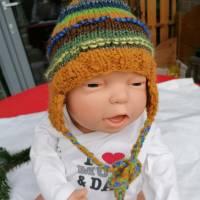 Baby Häckelmütze 0-6 Monate für Jungs Bild 10