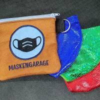 Maskengaragen blau Bild 1