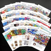 Komplettpaket Anleitungen: 20 Faltblätter zur Zwirn- und Posamentenknopfmacherei Bild 1