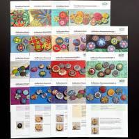 Komplettpaket Anleitungen: 20 Faltblätter zur Zwirn- und Posamentenknopfmacherei Bild 3