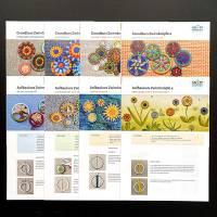 Komplettpaket Anleitungen: 20 Faltblätter zur Zwirn- und Posamentenknopfmacherei Bild 4