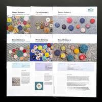 Komplettpaket Anleitungen: 20 Faltblätter zur Zwirn- und Posamentenknopfmacherei Bild 5