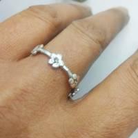 Blümchen Ring  - Ring aus Sterlingsilber Bild 3