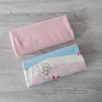 Stoffpaket Jersey mit Feen / uni rosa 2 x 50cm VB Bild 3