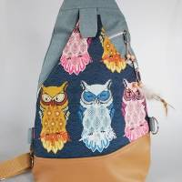 Sling Bag Malea//Crossbag//Rucksack//Unikat//Handmade Bild 1