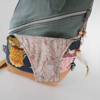 Sling Bag Malea//Crossbag//Rucksack//Unikat//Handmade Bild 6